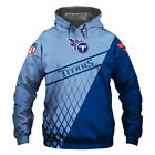Tennessee Titans Hoodie Hooded Pullover S-5XL Football Team Fans NEW Designs $38.68 CAD on eBay