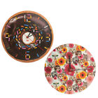 Décor Craft Funny Large Wall Clock Battery Operated Decorative Analog Kids Adult