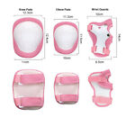 Child Protective Gear Set Knee Pad Elbow Pad Wrist Guards 6 pcs for Multi Sports image