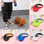 Extending Lead  Retractable Dogs Leash Traction Rope Cord Tape Dog Leads