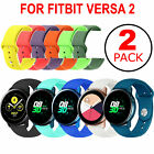 Replacement Silicone Band Strap 2PCS For Samsung Galaxy Watch Active 2 40mm 44mm image