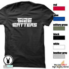 SIZE MATTERS Gym Rabbit T-Shirt Gym Fitness Workout Weightlifting E418 image