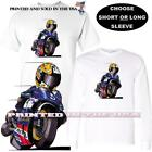 Honda Repsol Race Motorcycle Road Racer #2 Koolart Cartoon Art T Shirt image