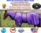 Horse Bug Mosquito Fly Sheet Summer Spring Airflow Mesh UV Neck 73143