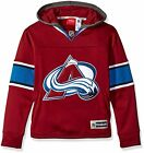 Reebok NHL Youth Colorado Avalanche Faceoff Jersey Hoodie $24.95 USD on eBay