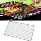 Stainless Steel BBQ Grill Grate Grid Wire Mesh Rack Replacement Cooking Net 2Pcs