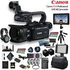 Canon XA40 Professional UHD 4K Camcorder (3666C002) W/ 2 Extra Battery, Soft Pad