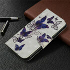 Butterfly Wallet Leather Flip Cover Case For Huawei Y6 2019 Y7 2019 Y6 2018 P30