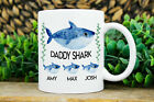 Personalized Daddy Shark Gift Baby Shark Gift For Dad From Daughter Gift Mug