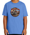 Bad to the Bone RAT ROD Kid's T-shirt Dog Gone it Tee for Youth - 2014C