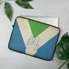 Laptop Sleeve Designed with V is for Vegan