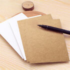 20 Sheets Card Cardboard Paper Made Postcards DIY Craft Art Scrapbooking KV
