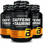 BIOTECH USA CAFFEINE + TAURINE PILLS - Energy Booster - Supports Weight Loss