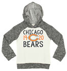 Outerstuff NFL Girls Youth (4-16) Chicago Bears French Terry Hoodie, Grey/White $17.99 USD on eBay