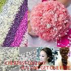 1 Metre Mix Size Pearl Garland Droplets Wedding Chain String UK image
