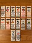 1992-93 Indiana Pacers Season Ticket Stub- Pick One on eBay