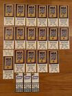 1995-96 NBA Indiana Pacers Season Ticket Stub- Pick One on eBay