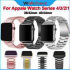 For iWatch Apple Watch Series 5 4 3 2 Stainless Steel Wrist Band Strap Bracelet  image