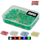 300pcs 3mm LED Light Emitting Diod White Red Green Yellow Assorted DIY Electric