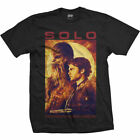 Official Solo A Star Wars Movie Han Solo Chewbacca Men T-shirt
