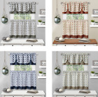 Kyпить Kate Aurora Modern Geo 3 Pc Kitchen Curtain Tier & Valance Set - Assorted Colors на еВаy.соm