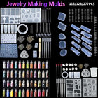 Resin Casting Molds Silicone DIY Mold Jewelry Pendant Mould Making Craft Kit