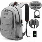 Travel Laptop Backpack Water Resistant Anti-Theft Bag with USB Charging Port and