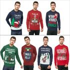 Seasons Greetings Adults Christmas Jumper Novelty Funny Rude Xmas Sweater Top