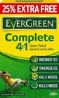 Evergreen Complete 4 in 1 Lawn Care Feeder Weed Moss Killer 100m2 Bag 3.5kg