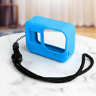 Silicone Protective Rubber Cover Skin Sport Camera Case W/Strap For GoPro Hero 8