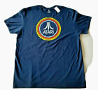 ATARI RETRO LOGO Adult Unisex T-SHIRT VINTAGE GAMING 80s CLASSIC ☆NEW WITH TAGS☆
