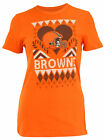 Outerstuff NFL Youth Girls Cleveland Browns Candy Cane Love Tee $9.99 USD on eBay