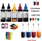 30-100 ml kit recharge encre pour HP Canon Epson Brother 48h