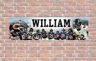 Chicago Bears 19-20 Roster Personalized Poster Customized Banner w/ Frame Option $27.5 USD on eBay