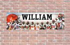 Cleveland Browns 2020 Roster Personalized Poster Customized Banner Frame Options $27.5 USD on eBay
