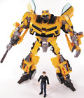 New Transformers Bumblebee SAM Camaro Human Alliance KO Action Figure 8\