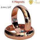 4X3000G SOLID COPPER MAGNETIC RING ARTHRITIS THERAPY 7-15 MEN WOMEN DOMED CR5