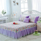 100% cooton lace bed skirt Korean style Bed cover freshness home dust ruffle
