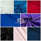 Kyпить Solid Poly Cotton Fabric Broadcloth 58