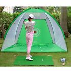 2M Foldable Golf-Driving Cage Practice Hitting Net Outdoor Garden Yard Trainer