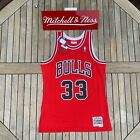 Mitchell & Ness Scottie Pippen NBA Swingman Jersey Chicago Bulls 1997 Red on eBay