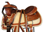 ROPER RANCH WESTERN ROPING LEATHER SADDLE 15 16 PLEASURE HAND TOOLED TACK SET
