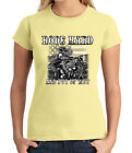 Rode Hard JUNIOR'S T-shirt Patriotic Biker GIRL'S Tee - 1420C