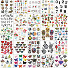 Mix Bags DIY Embroidered Sew Iron On Patches Badge Fabric Applique Sticker Craft $7.13 USD on eBay