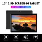 """10.1"""" WIFI/4G-LTE 8G+128G Tablet Android 9.0 HD Screen PC SIM GPS Dual Camera"""