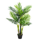 3.5 /6' Fake Artificial Greenery Plants Decorative Trees For Home Office Outdoor