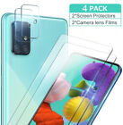 Screen Protector+camera Lens Protector For Samsung Galaxy A51 A71 Tempered Glass