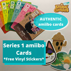 Series 1 Animal Crossing Amiibo Cards (AUTHENTIC!) (Free Vinyl Stickers! Cheap!) $2.9 USD on eBay