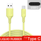 4/6FT USB Type C Fast Charger Cable For Samsung Galaxy S10 S9 S8 Note 10 8 Plus