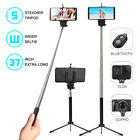 Wireless Extendable Selfie Stick Monopod Tripod for Cell Phone+Bluetooth Shutter